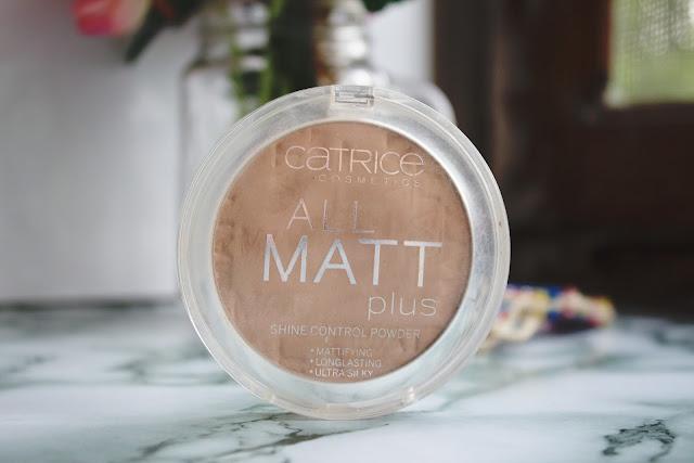 CATRİCE-All-Matt-Plus-Pudra - Parlama-Karşıtı