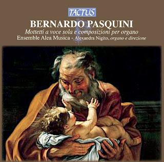 Pasquini: Mottetti a voce sola e composizioni per organo