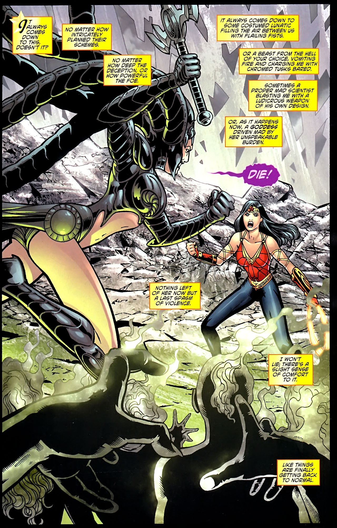 Read online Wonder Woman (2006) comic -  Issue #614 - 2