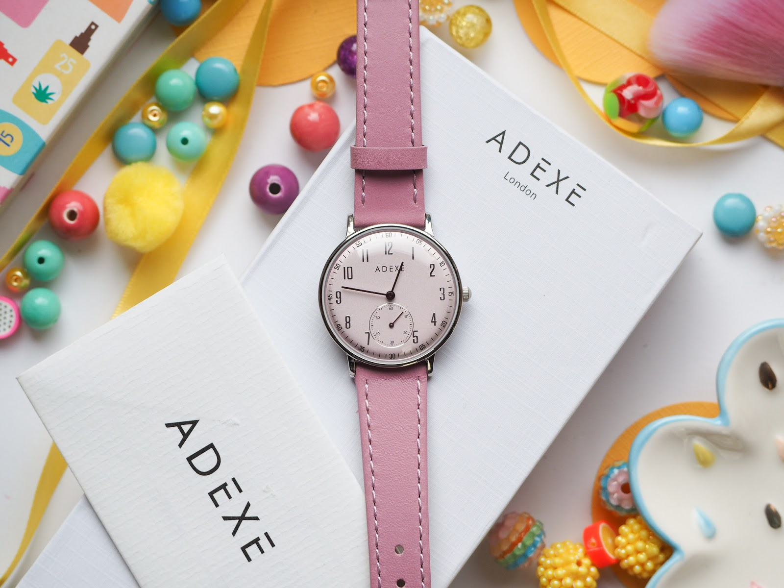 Adexe London: Petite Freerunner Pink Watch*