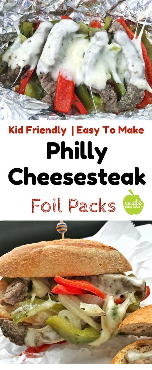 Philly Cheesesteak Foil Pack