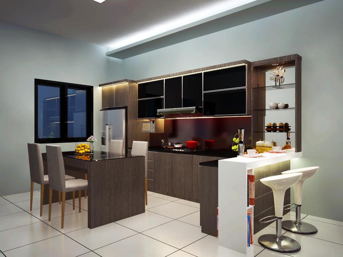 Kitchen Pantri Dian Interior Design