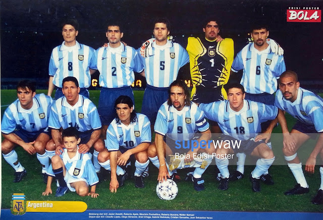 Poster Tim Argentina