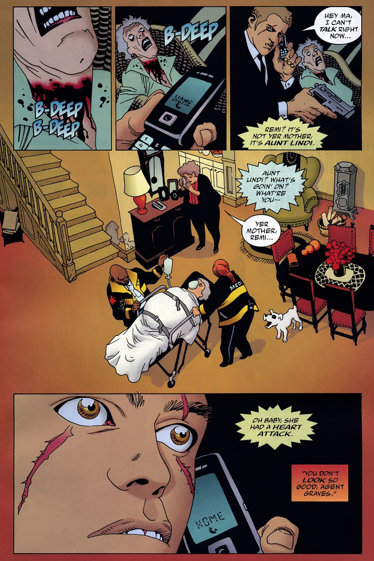 Read online 100 Bullets comic -  Issue #93 - 7