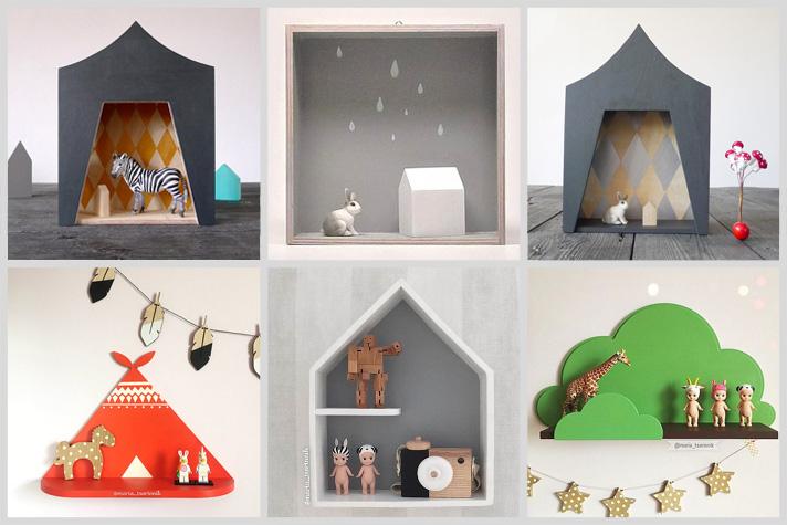 Etsy finds - inspiración para cuartos infantiles