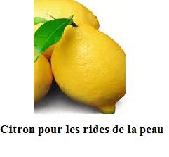 Citron pour la grippe