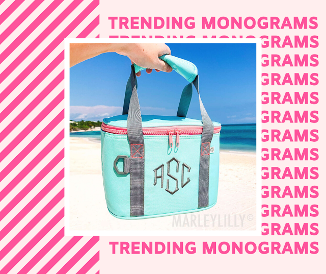 personalized small cooler from marleylilly.com