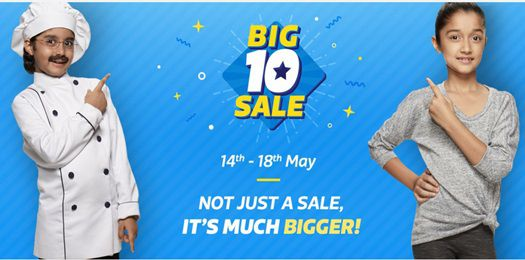 Big 10 Sale Offer 14th May to 18th May 2017