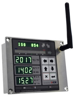 ISG heat treat controller
