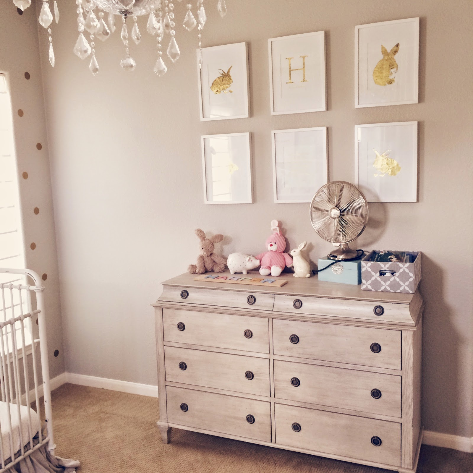Veronika's Blushing: Harper's Nursery- Updated