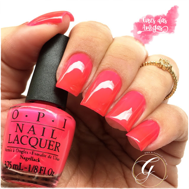 Esmalte Nailpolish Cores das Amigas OPI Precisely Pinkish
