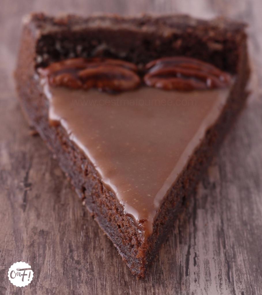 c 39 est ma fourn e le brownie au caramel beurre sal. Black Bedroom Furniture Sets. Home Design Ideas
