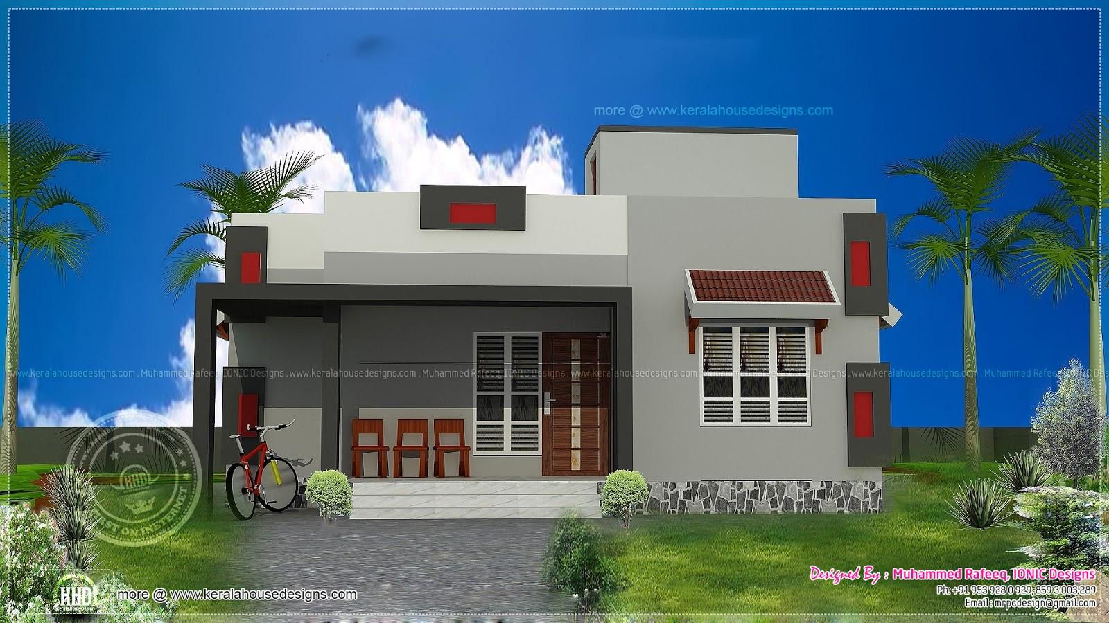 Simple house plans in tamilnadu front design for Simple but beautiful house plans