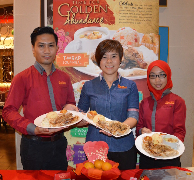 The Golden Abundance Meal @ Kenny Rogers Roasters (KRR)
