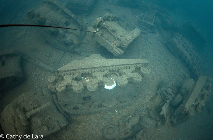 The Empire Heritage And The Sherman Tanks Graveyard