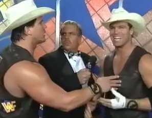 WWF / WWE - In Your House 11: Buried Alive - The Smoking Gunns failed to reclaim the WWF tag team titles from British Bulldog and Owen Hart