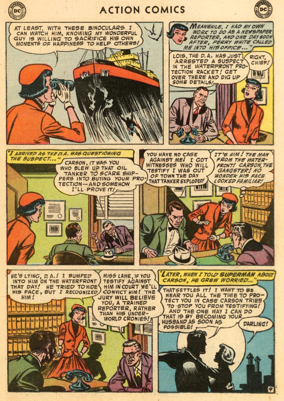 Action Comics (1938) 206 Page 10