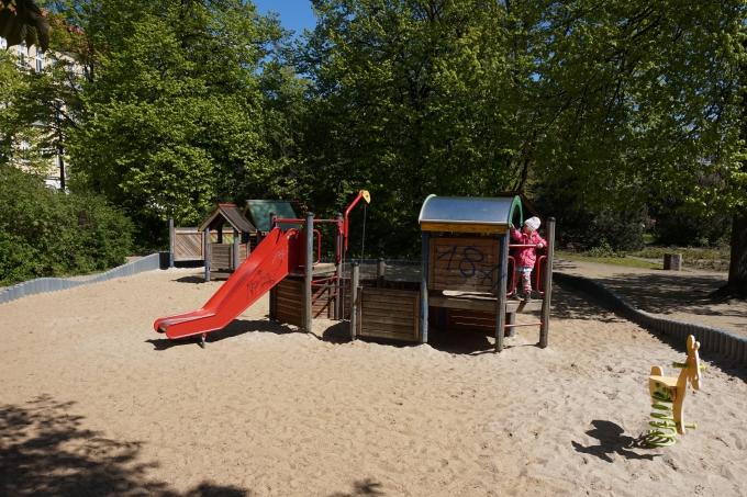 Lasten parhaat leikkipaikat itä-Berliinissä