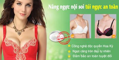 Nâng ngực nội soi an toàn uy tín nhất hoa kỳ giúp ngực to gọn tự nhiên