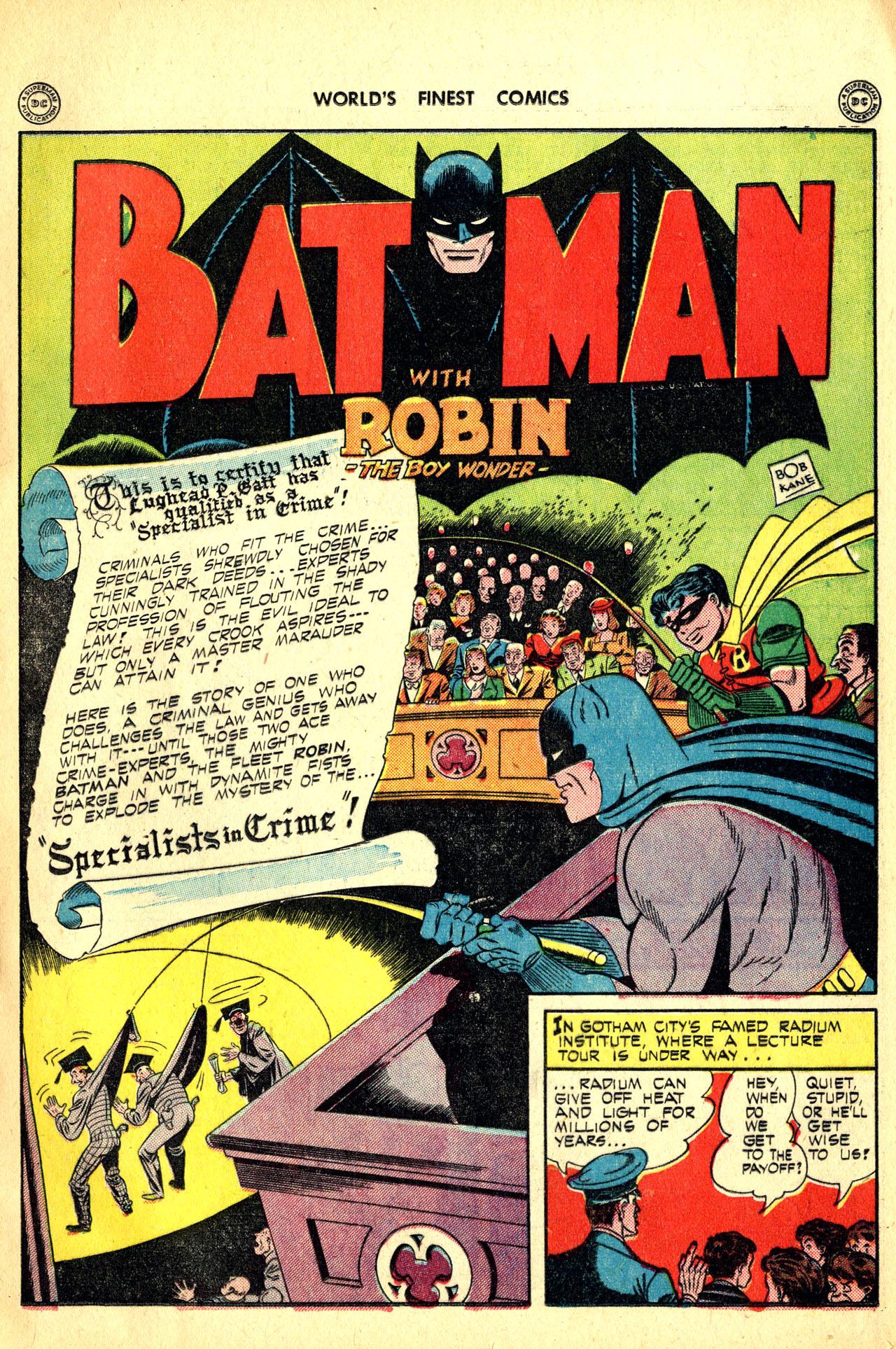 Read online World's Finest Comics comic -  Issue #18 - 69