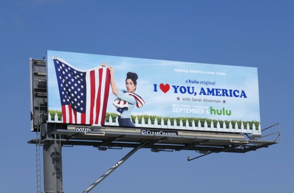 I Love You America season 2 billboard