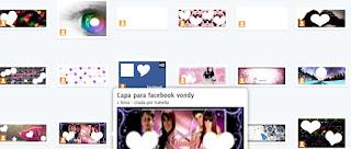 Criar capa facebook