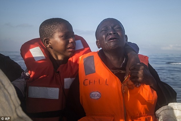 Nigerian siblings in distress as mother dies in the Mediterranean