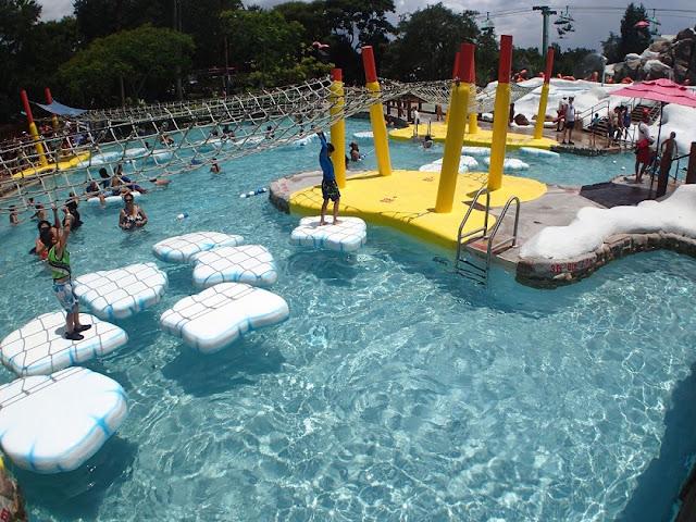 Brinquedos para a família no Blizzard Beach na Disney em Orlando