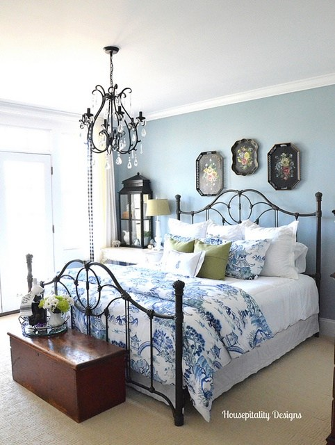 Blue & White bedroom