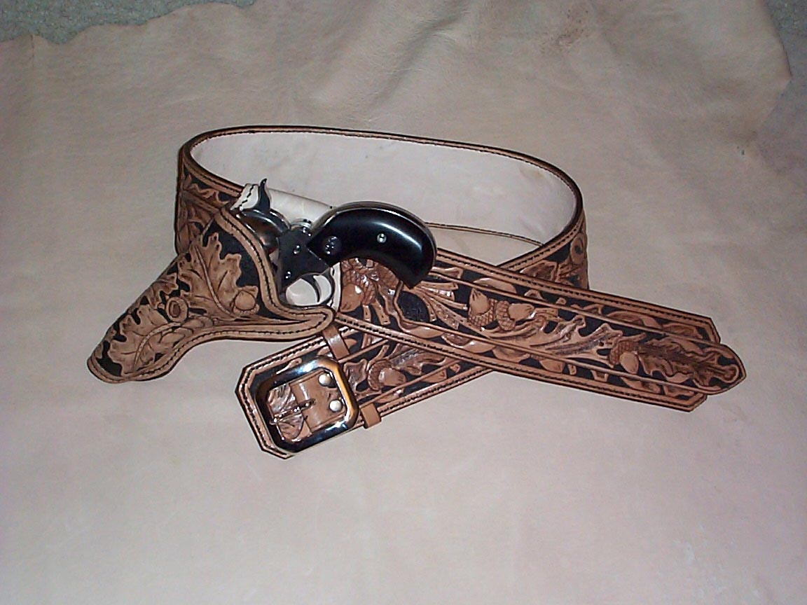 Arizona Holsters Leather Gun