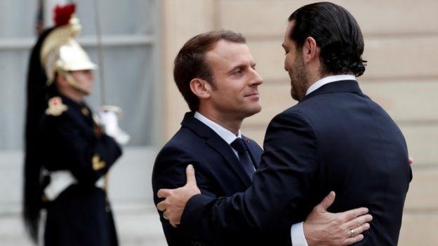 Lebanese PM Saad Hariri back in Beirut after shock resignation