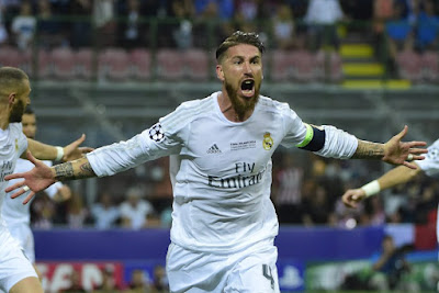 Sergio Ramos goal Champions Final 2016