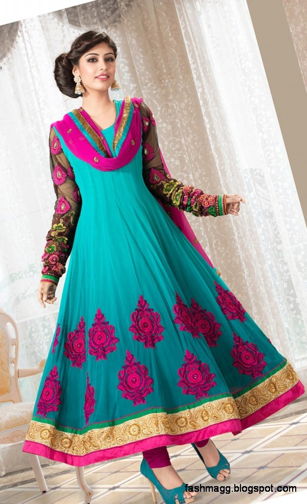 Fashion & Style: Anarkali Indian Umbrella Frocks-Anarkali