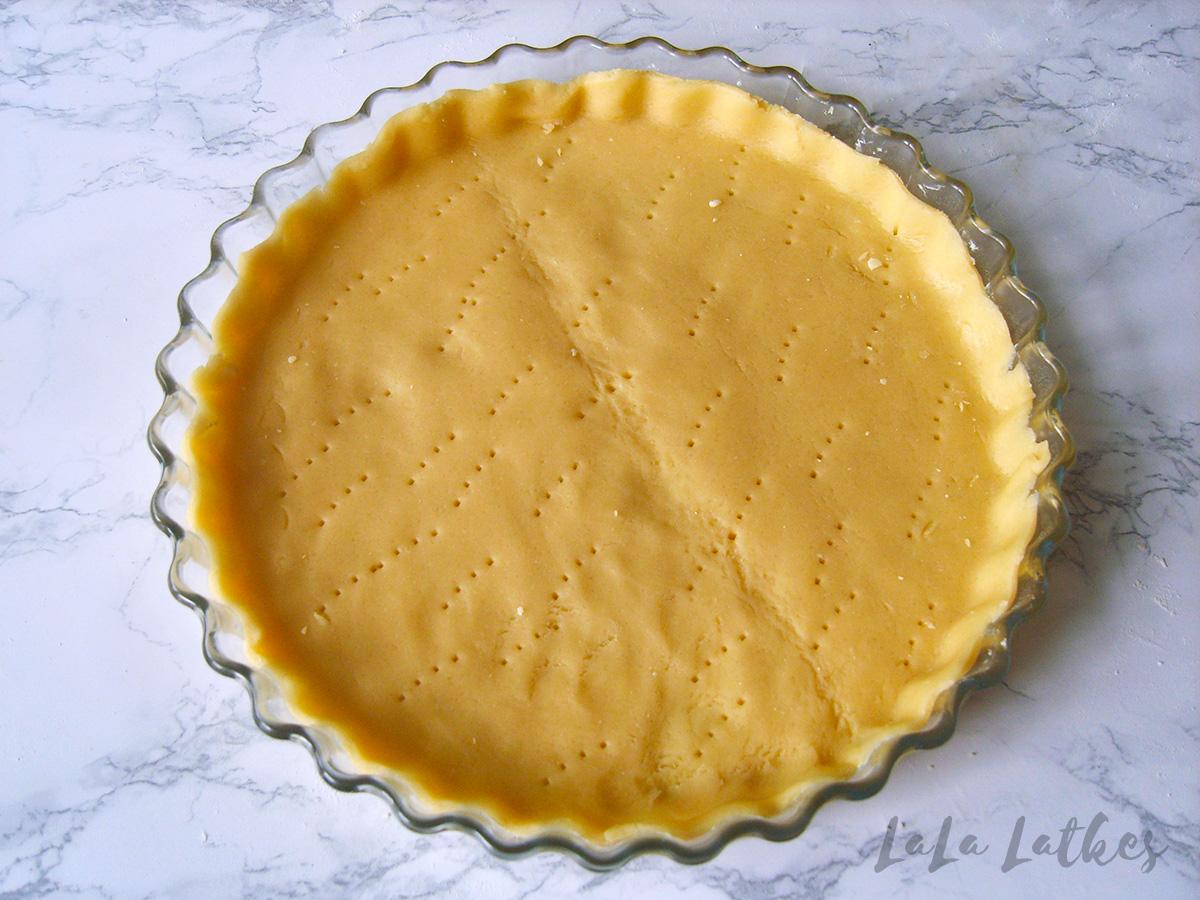 Быстрое песочное тесто без сливочного масла