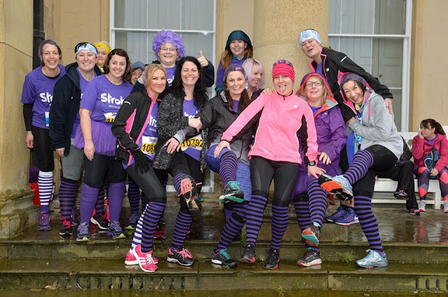 Fitbitches - The March Run Down - Stroke Association Resolution Run at Heaton Park in Manchester - photo credit : Stroke Association