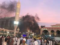 Ini Video Detik Detik Ledakan Bom di Madinah Dekat Masjid Nabawi