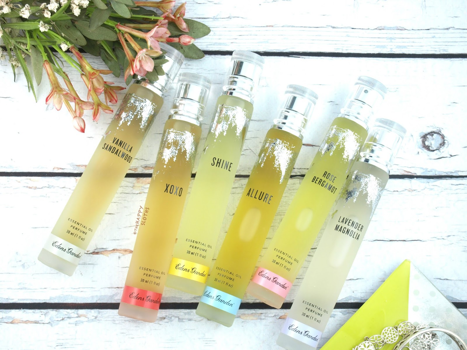 Edens Garden Essential Oil Perfume Collection Review