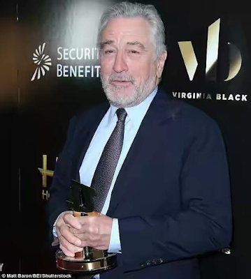 what is robert de niro net worth