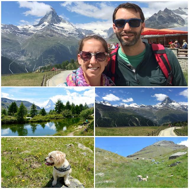 Matterhorn from 5-Seenweg, Sleachmour Adventures