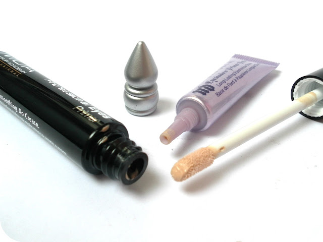 A picture of Urban Decay Eyeshadow Primer Potion and MUA Professional Eye Primer