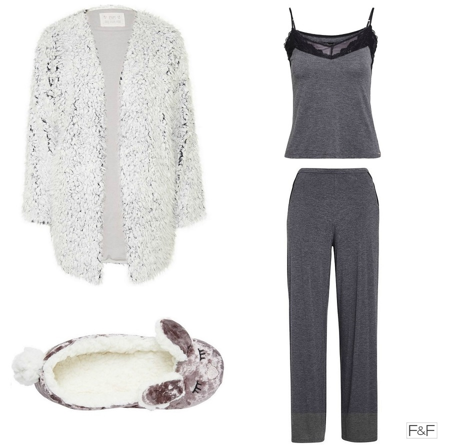 Cosy Lounge Wear, Christmas Gifts for Her, Velvet Rabbit Slippers, Cosy Pyjamas, Clothing at Tesco