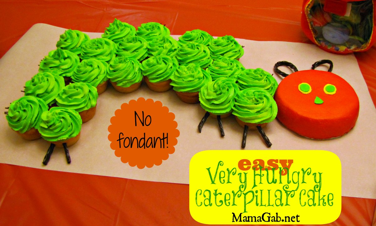 The Very Hungry Caterpillar Birthday Cake Nut Free