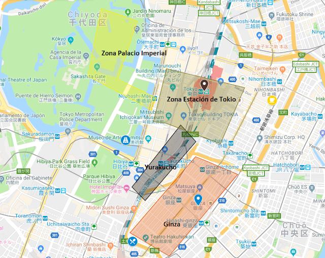 qué ver en Ginza y Tokyo Station