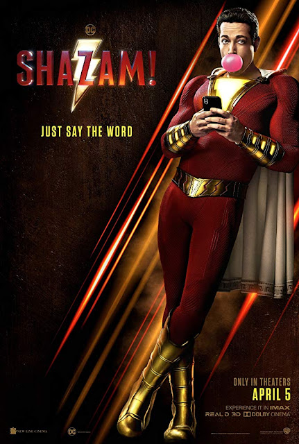 Shazam! 2019 DC Comics movie poster