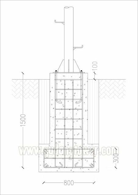 Tower Monopole 15 meter