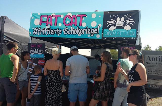 Street Food Festival Erfurt 2016 - Stand Fat Cat #frittierte Schokoriegel