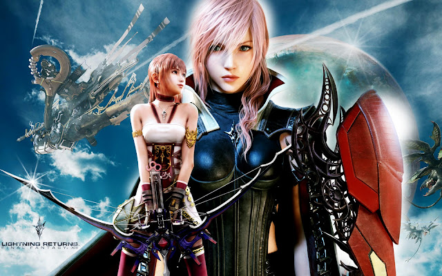 lightning returns final fantasy xiii como papel de parede