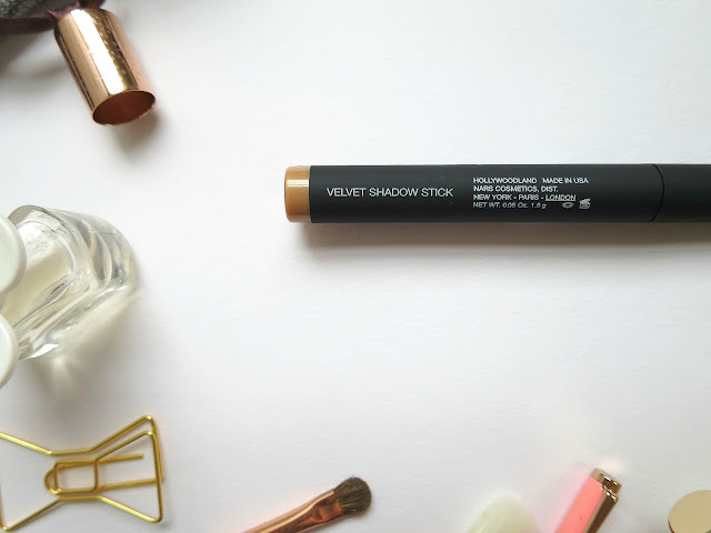 NARS Velvet Shadow Stick in Hollywoodland Shimmer Gold Eye Cream