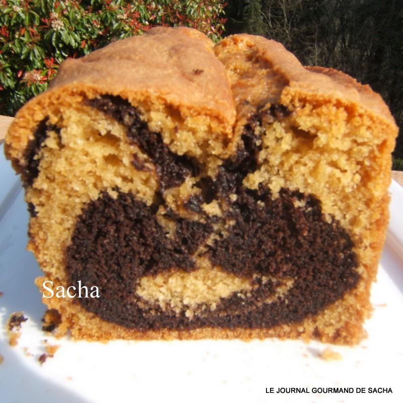 Cake Aux Chocolat Aux Lait Avec Fruits Confits