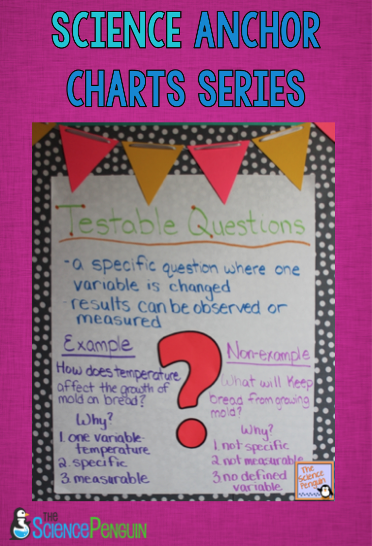 See More Anchor Charts In The Science Series